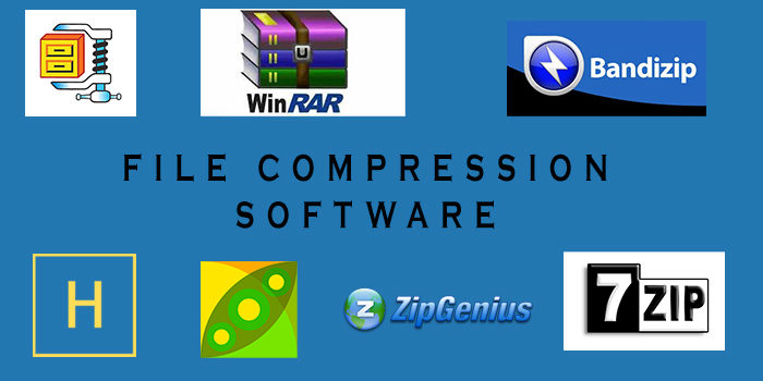5+ Best File Compression Software List