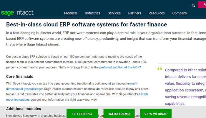 erp software for manufacturing business
