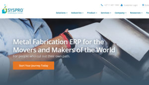 erp software for manufacturing